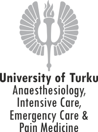 University of Turku, Anesthesiology logo