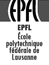 EPFL – École polytechnique fédérale de Lausanne logo