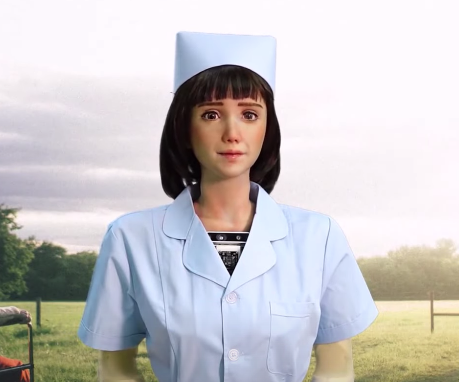 Grace The Humanoid Robot Healthcare Assistant & SingularityNET